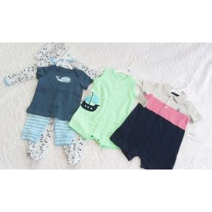 Lot of 3 New FULL OUTFITS Carter's Baby Boy 6-9m